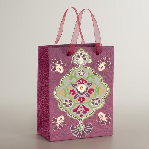 Small Pink Inverness Handmade Gift Bag