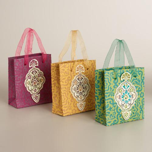 Mini Inverness Gift Bags, Set of 3