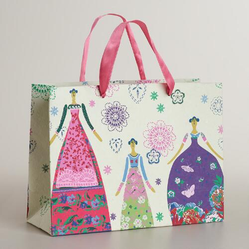 Large Dolls Handmade Gift Bag