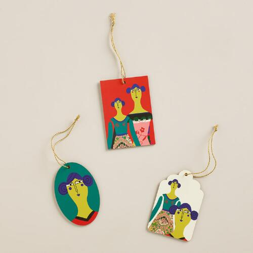 Doll Gift Tags