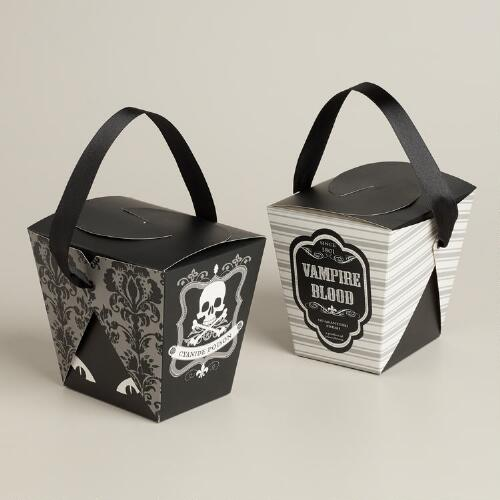 Spooky Halloween Takeout Boxes