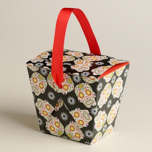 Day of the Dead Takeout Boxes, Set of 6