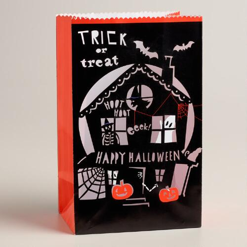 Meri Meri Eek! Halloween Luminary Bags, Set of 4