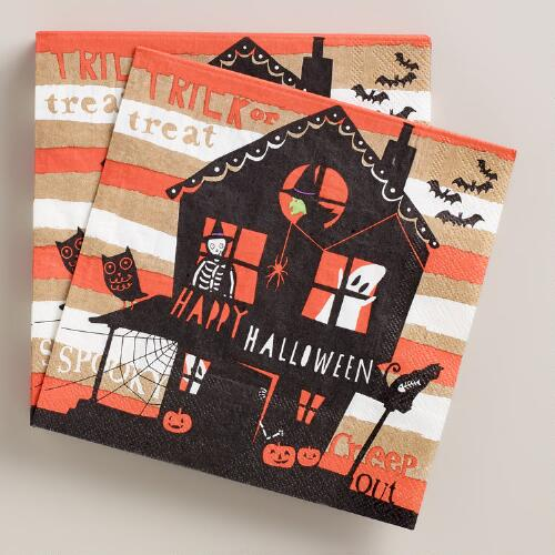 Meri Meri Eek! Halloween Lunch Napkins, 20-Count
