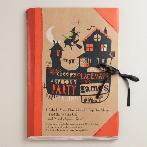 Meri Meri Eek! Creepy Party Games Placemat Book