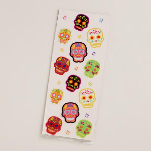 Day of the Dead Goodie Bags, 20-Count