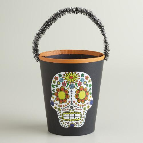 Day of the Dead Paper Container