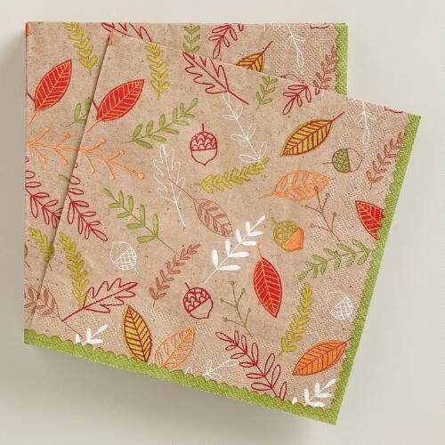 Harvest Lunch Napkins, 20-Count