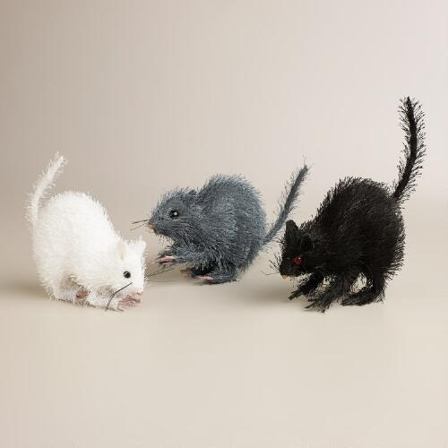 Fabric Rats, Set of 3