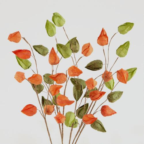 Paper Lantern Stems, Set of 2