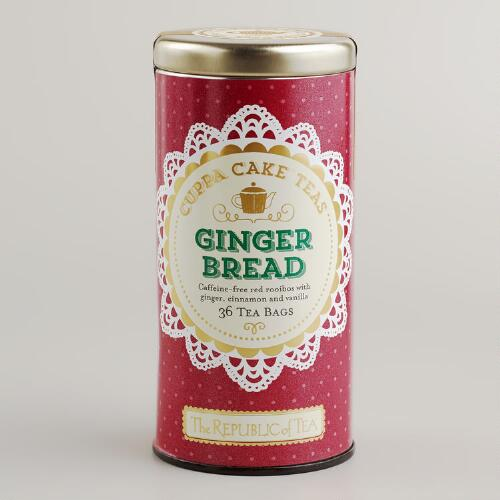 The Republic of Tea Gingerbread Cuppa Cake Tea, 50-Count