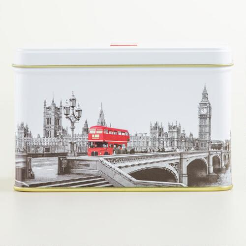 Ahmad Tea of London Westminster Caddy, 20-Count