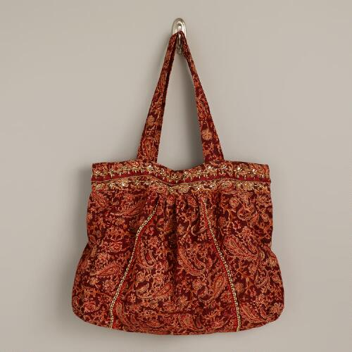 Kalamkari Embroidered Bag