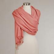 Dusty Rose Pashmina Shawl