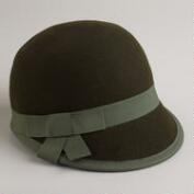 Green Wool Cap
