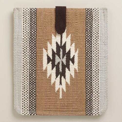 Gray Kilim iPad Case
