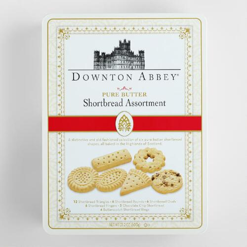 Downton Abbey Luxury Assorted Shortbread Tin