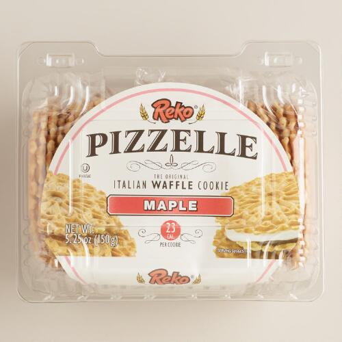 Reko Maple Pizzelle Cookies
