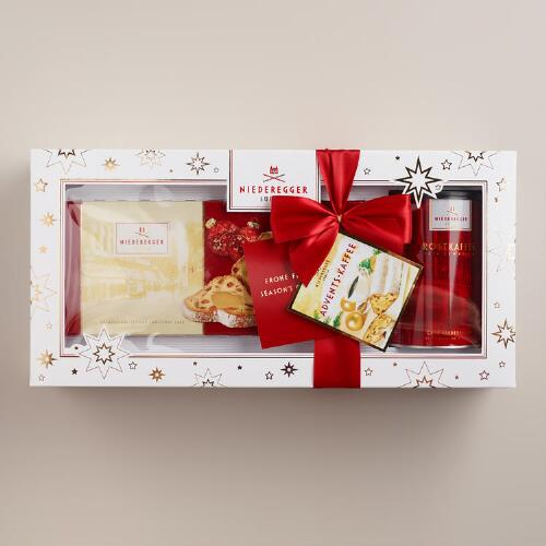 Niederegger Stollen and Coffee Gift Set