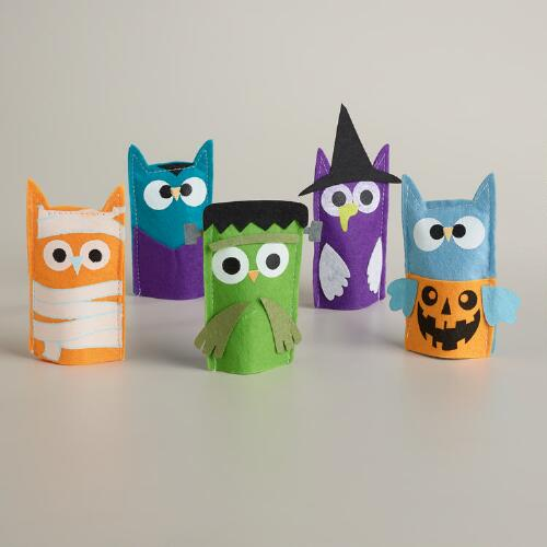 World Market Halloween Finger Puppets, Set of 5