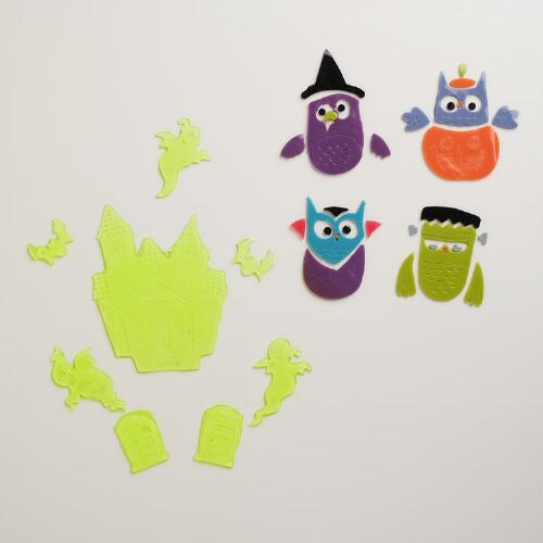 Halloween Gel Cling Stickers, Set of 2