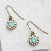 Pacific Opal Stone Drop Earrings