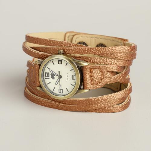 Bronze Multi-Strand Watch