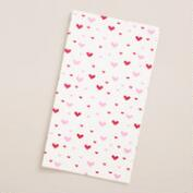 Hearts Parchment Paper Sheets, 24-Count