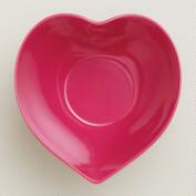 Large Red Heart Bowl