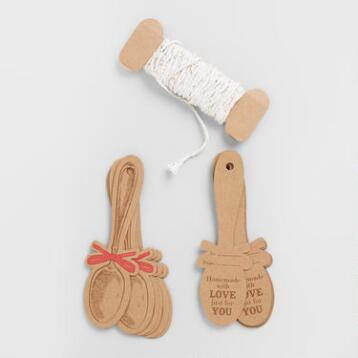 Spoon Gift Tags
