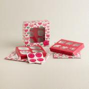 Hearts Cupcake Boxes, Set of 3