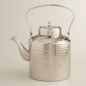 Hammered Steel Tea Kettle