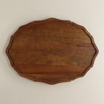 Scalloped Trencher Cutting Board