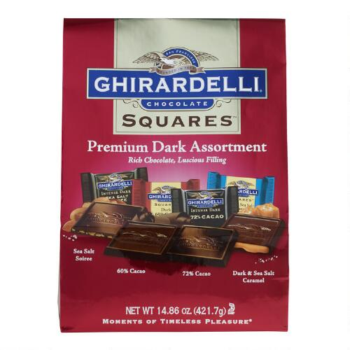 Ghirardelli Dark Chocolate Assortment Value Bag