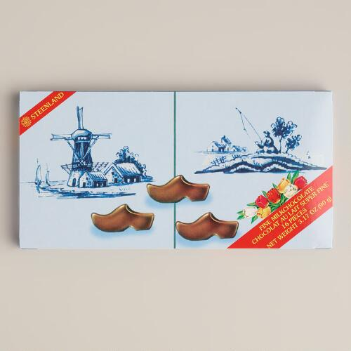 Steenland Holland Milk Chocolate Clogs