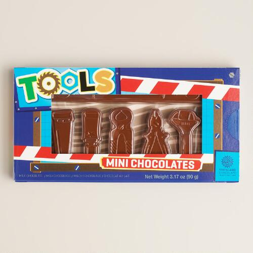Steenland Mini Chocolate Tools, Set of 6 Boxes