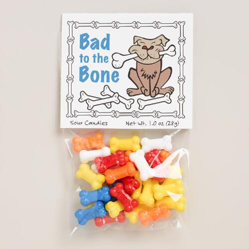 Bad to the Bone Candies