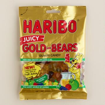 Haribo Juicy Gold Bears, Set of 12