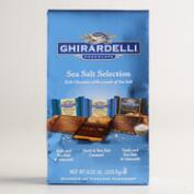 Small Ghirardelli Sea Salt Chocolate Selection Bag