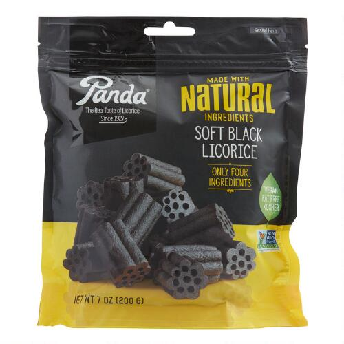 Panda Black Licorice Bag