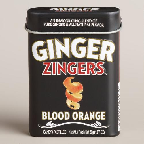 Zingers Ginger Blood Orange Tin