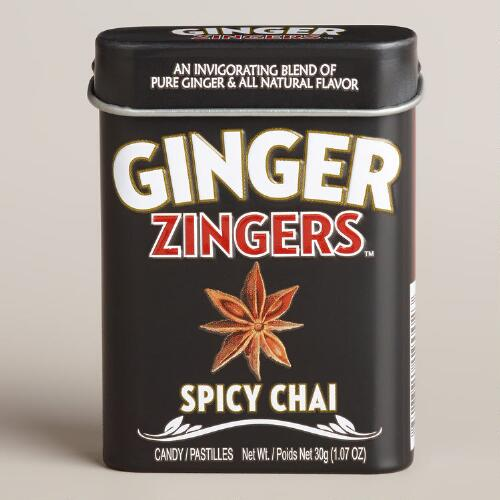 Zingers Ginger Spicy Chai Tin