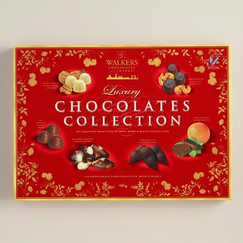 Walkers Chocolate Collection Candy Box
