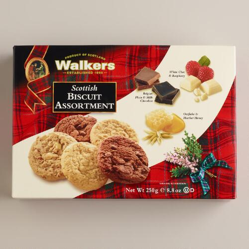 Walkers Scottish Biscuit Assortment