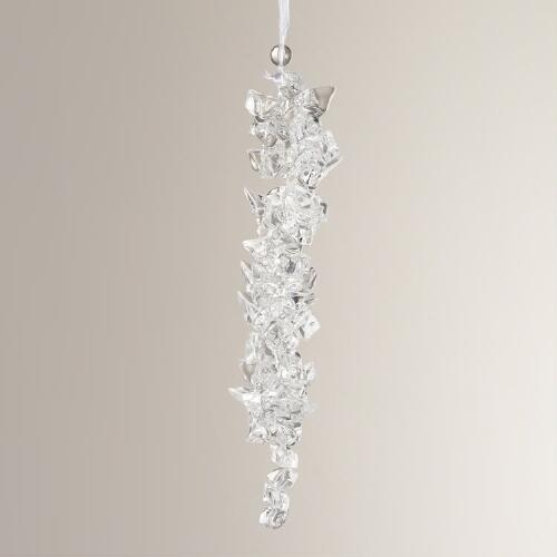Chunky Icicle Ornament