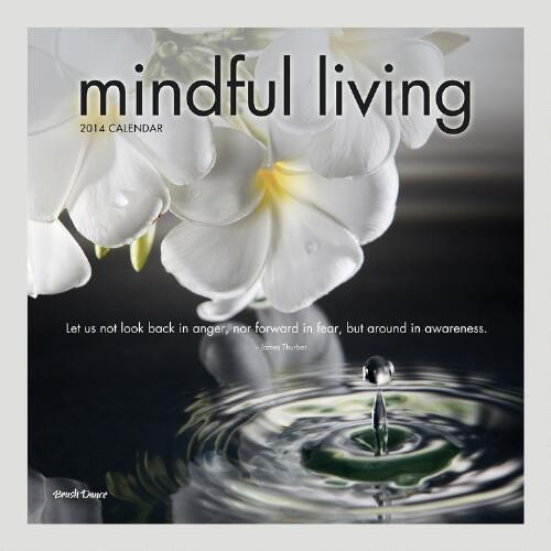 Mindful Living 12-Month Wall Calendar