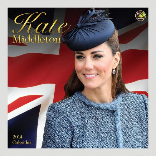 Kate Middleton 12-Month Wall Calendar
