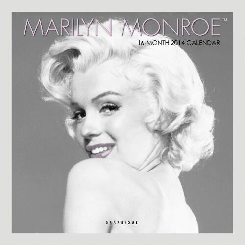 Marilyn Monroe 12-Month  Wall Calendar