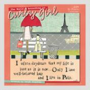 Curly Girl 16-Month  Wall Calendar
