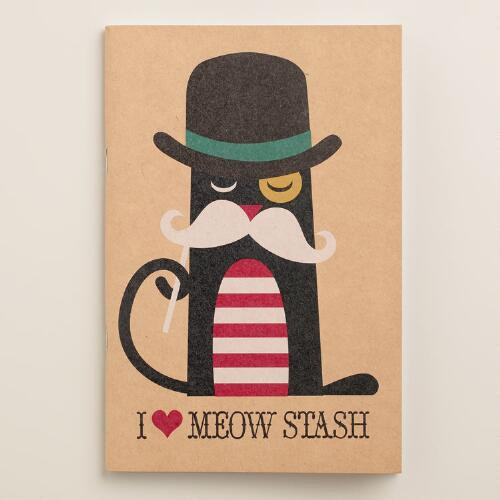 Mustache Kraft Journal